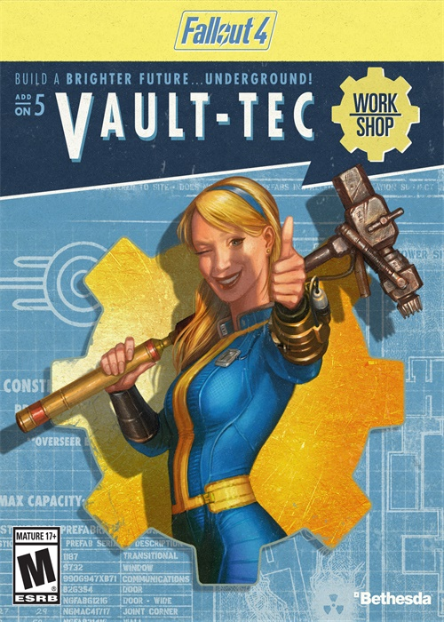 Fallout 4 VaultTec Workshop DLC Steam CD Key
