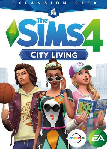 The Sims 4 City Living Origin CD Key