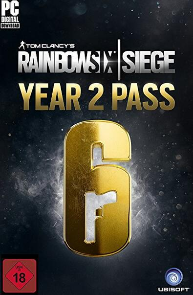 Tom Clancy's Rainbow Six Siege Year 2 Pass DLC UPLAY CD KEY GLOBAL