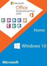 Windows10 Home OEM + Office2016 Professional Plus CD Keys Pack
