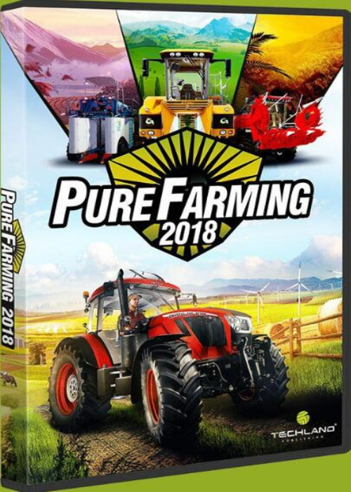 Pure Farming 2018 Steam Key EU