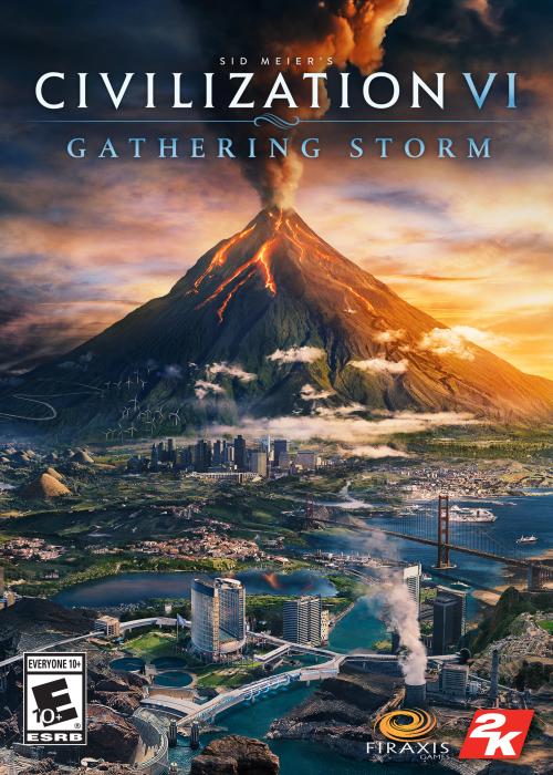 Civilization 6 Gathering Storm Steam CD Key EU