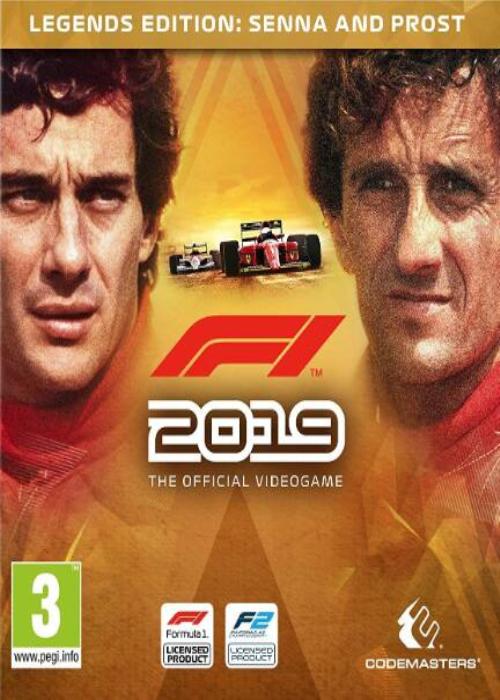 F1 2019 Legend Edition Steam Key