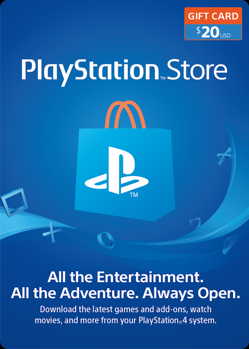 Play Station Network 20 USD
