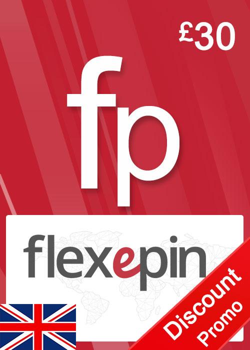 Flexepin Voucher Card 30 GBP