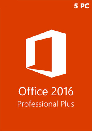 Office2016 Professional Plus CD Key Global(5PC)