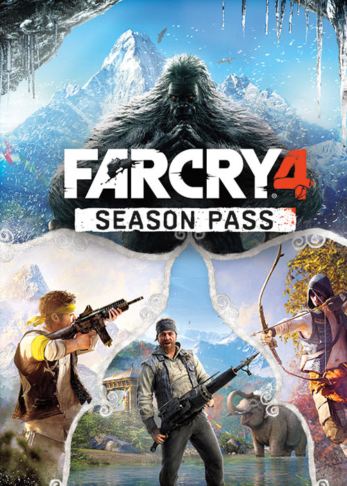 Far Cry 4 Season Pass Uplay CD Key