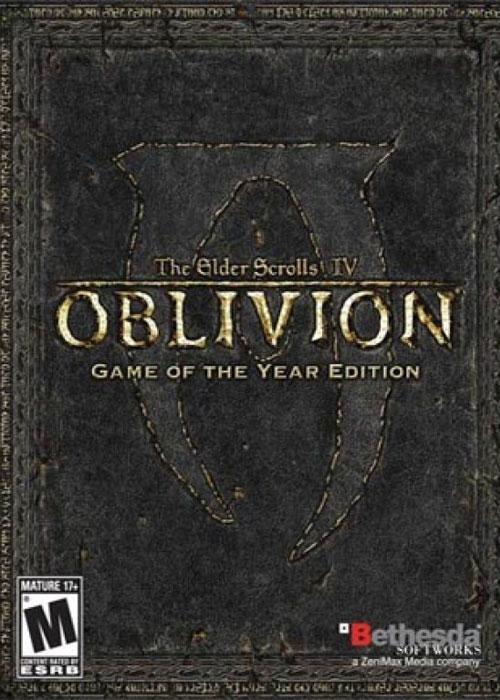 The Elder Scrolls IV Oblivion GOTY Steam CD Key