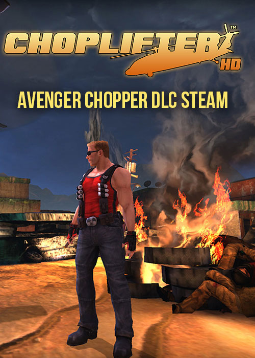 Choplifter HD Night Avenger Chopper DLC Steam CD Key