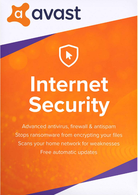Avast Internet Security 1 PC 1 Year Key Global