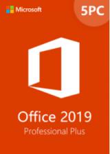 Office2019 Professional Plus CD Key Global(5PC)
